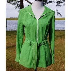 Vintage Pizelli hooded jacket